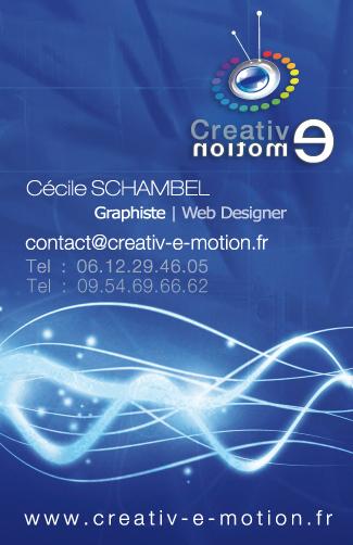 carte de visite directeur artistique graphiste agence communication web Lyon creation site internet lyon