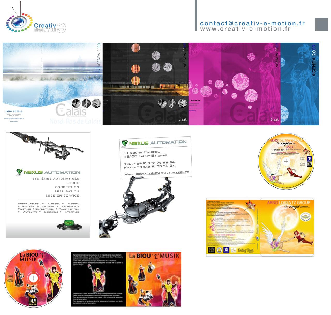 creativ e motion plaquette Plaquette